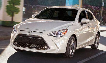 Llega a México el renovado sedán Toyota Yaris 2019