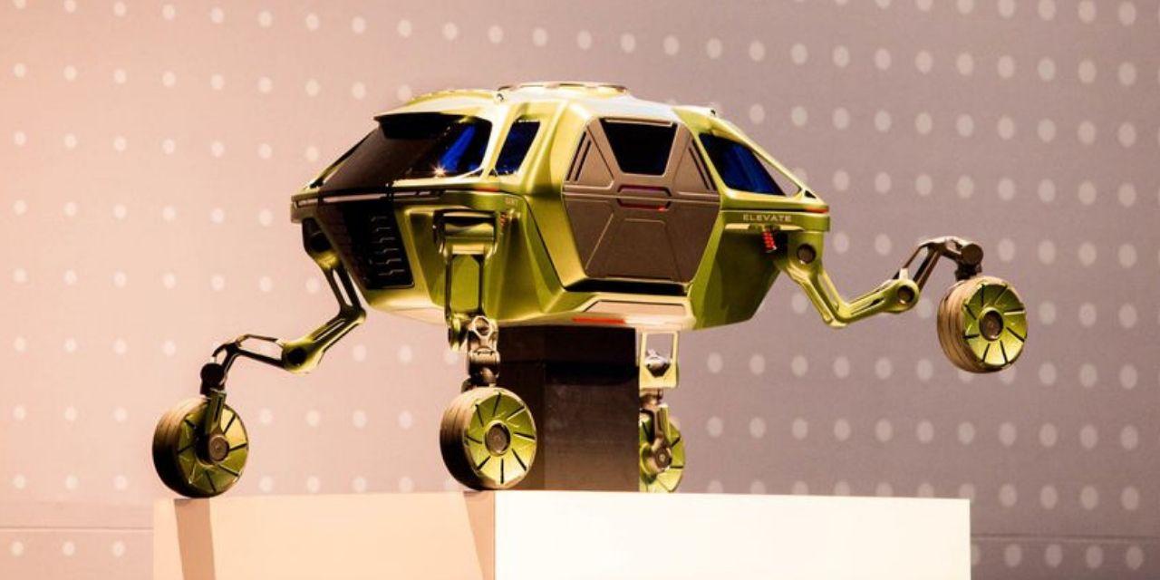 Hyundai Elevate: el coche eléctrico con un concepto revolucionario