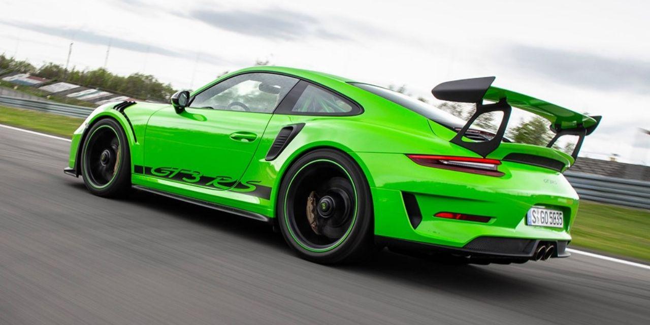 Porsche 911 GT3 RS diseño