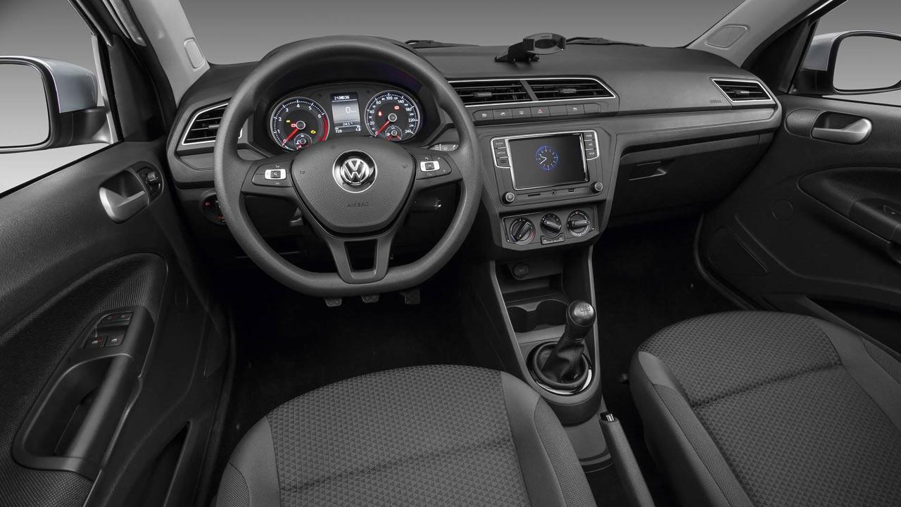 volkswagen gol 2019 interiores